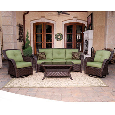 Cilantro Newport Deep Seating Outdoor Set - 4 pc.