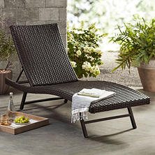 Patio chairs outdoor daybed outdoor lounges sam 39 s club for Agio heritage chaise lounge