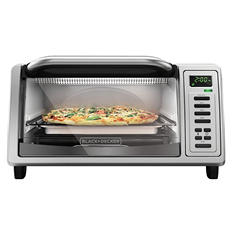 Black + Decker EvenToast Digital 4-Slice Toaster Oven