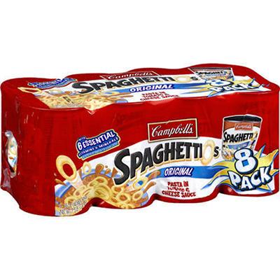 Campbell's SpaghettiOs Original - 8 pk. - 15 oz.
