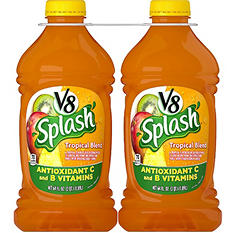 V8 Splash® Tropical Blend - 64 fl. oz. - 2 pk.