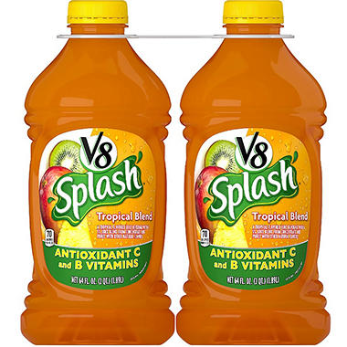V8 Splash� Tropical Blend - 64 fl. oz. - 2 pk.