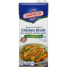Swanson Natural Goodness Chicken Broth (32 oz., 3 pk.)