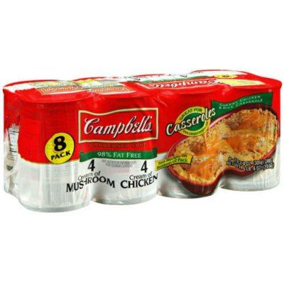 Campbells® Reduced Fat Creams Condensed Soup   8 pk.   10.75 oz