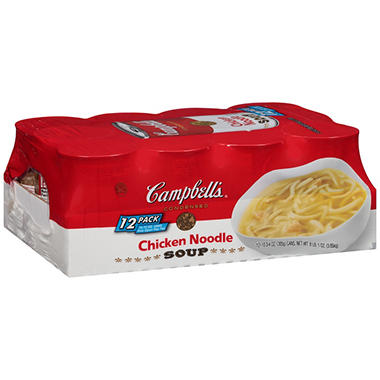 Campbell's� Chicken Noodle Soup - 10.75 oz. can - 12 ct.