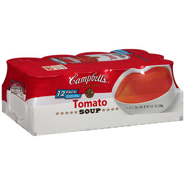 Campbell's� Tomato Soup - 10.75 oz. cans - 12 ct.