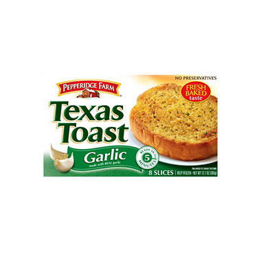 Pepperidge Farm� Garlic Texas Toast - 32 slices
