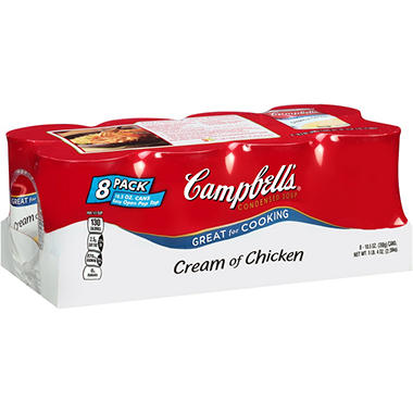 Campbell's Cream of Chicken Soup (10.75 oz. can, 8 ct.)