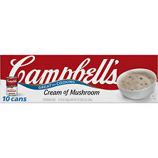 Campbell's Condensed Cream of Mushroom Soup (10.75 oz., 10 pk.)