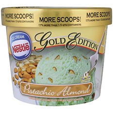 Nestle Gold Edition Pistachio Almond Ice Cream - 1.75 qts.