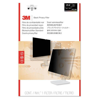 3M Framed Desktop Monitor Privacy Filter for 15