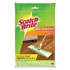 Scotch-Brite - Hardwood Floor Mop Refill -  Microfiber