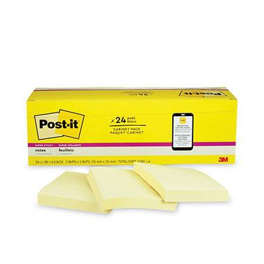 Post-it - Super Sticky Notes, 3
