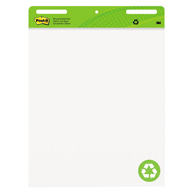 Post-it® Recycled Easel Pad - 12/30 ct.