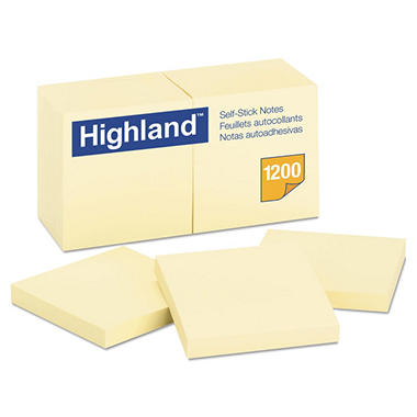 Highland - Self-Stick Pads, 3