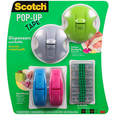Scotch - Pop-Up Tape Dispensers & Refills