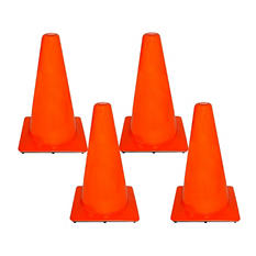 "18"" Orange Safety Cones (4 pk.)"