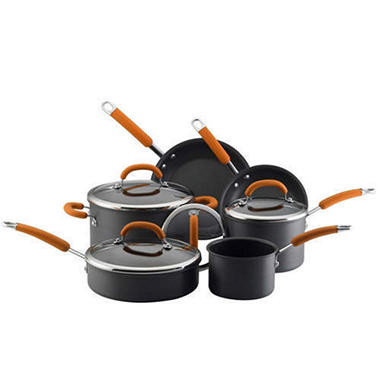 Rachael Ray Hard Anodized Cookware Set - 10 pc.