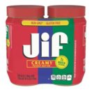 Jif® Creamy Peanut Butter - 2 jars - 40 oz. each