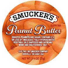 Smucker's Peanut Butter, Single Serving Packs (3/4 oz., 200 pk.)