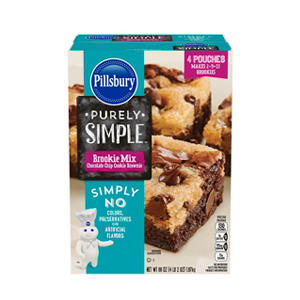 Pillsbury Purely Simple Brookie Mix (66 oz.)