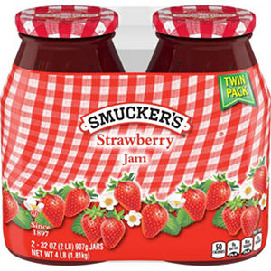 Smucker's Strawberry Jam (32 oz. jars, 2 pk.)