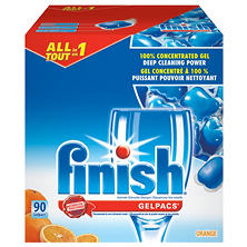 Finish Gelpacs - Orange Scent - 90 Gelpacs