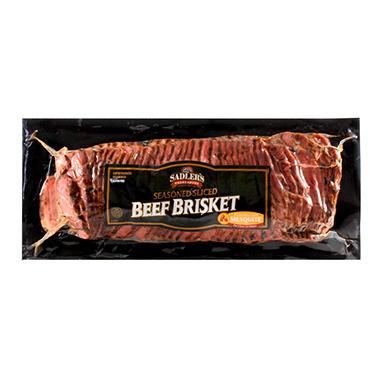 Sadler's Smokehouse Mesquite Beef Brisket - 2.5 lb.