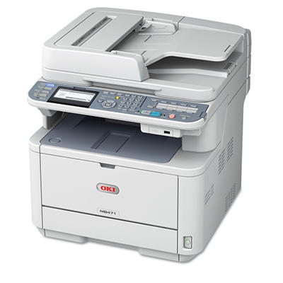 Oki MB471 MFP Multifunction Laser Printer - Copy/Fax/Print/Scan