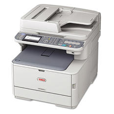Oki - MC562w Wireless Multifunction Color Laser Printer -  Copy/Fax/Print/Scan