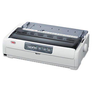 Oki - Microline 621 9-Pin Wide Carriage Dot Matrix Printer