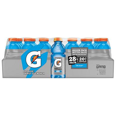 Gatorade Cool Blue Sports Drink (20 oz., 28 ct.)