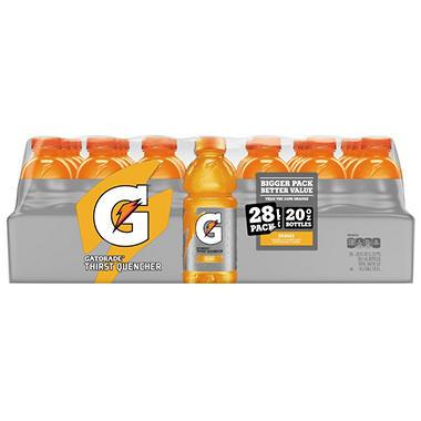 Gatorade Orange Sports Drink (20 oz. bottles, 28 pk.)