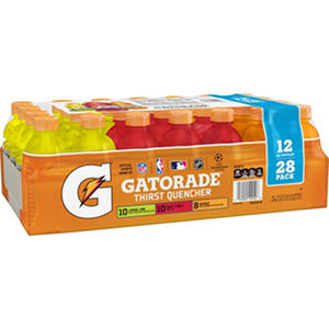 Gatorade Sports Drinks Core Variety Pack (12 fl. oz. bottles, 28 ct.)