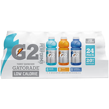 Gatorade G2® Perform 02 Low Calorie Thirst Quencher Variety Pack - 24/20 oz.