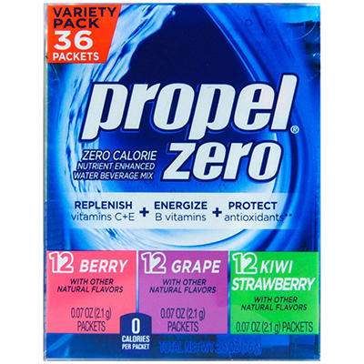 Propel Zero Powder - 36 ct. sticks