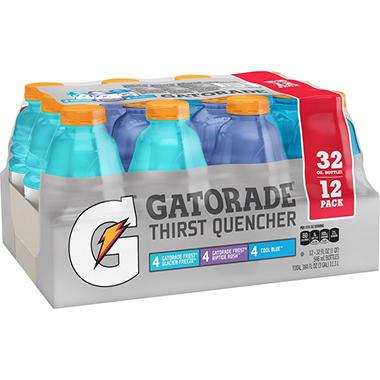 Gatorade Frost Variety Pack, 32oz  (12pk.)