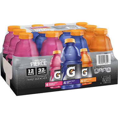 Gatorade Fierce VP, 32oz. (12pk)