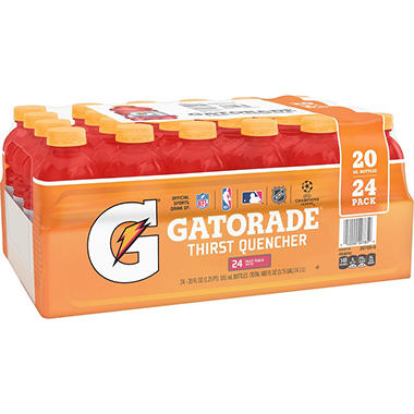 Gatorade Fruit Punch - 20 oz. bottles - 24 pk.