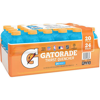 Gatorade Cool Blue - 20 oz. bottles - 24 pk.
