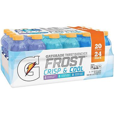 Gatorade Frost Variety Pack (20 fl. oz. bottles, 24 pk.)