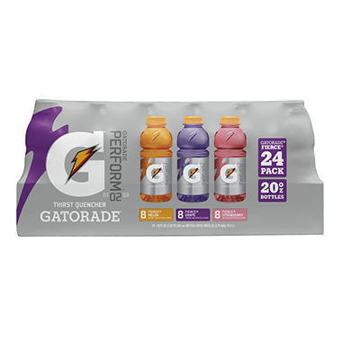 Gatorade Fierce Variety Pack - 20 oz. - 24 ct.