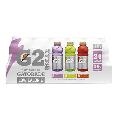 Gatorade G2 Variety Pack, ( 20 Oz.  Bottles -24 Pk)
