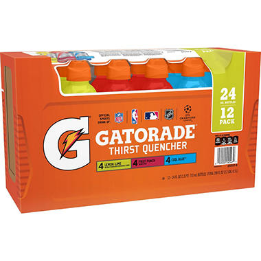 Gatorade Variety Pack, 24oz. (12pk.)