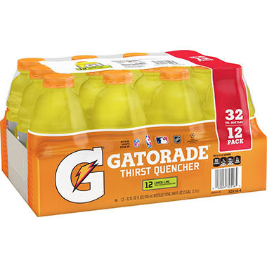 Gatorade� Lemon-Lime - 12/32oz bottles