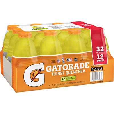 Gatorade Lemon-Lime,32oz. (12pk.)