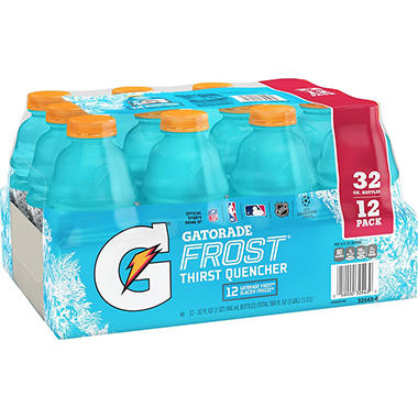 Gatorade Frost Glacier Freeze Sports Drink - 32 oz. - 12 pk.