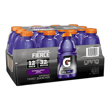 Gatorade� Fierce� Grape - 12/32oz bottles
