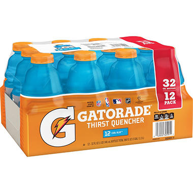 Gatorade� Cool Blue? - 12/32oz bottles