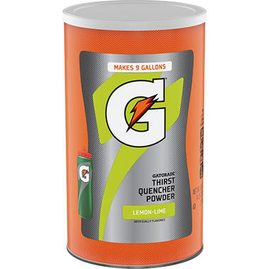 Gatorade Lemon Lime Powder - Makes 36 qts.